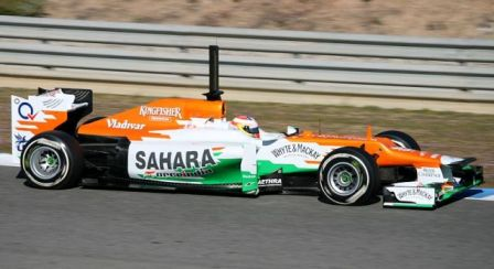 Force India copy