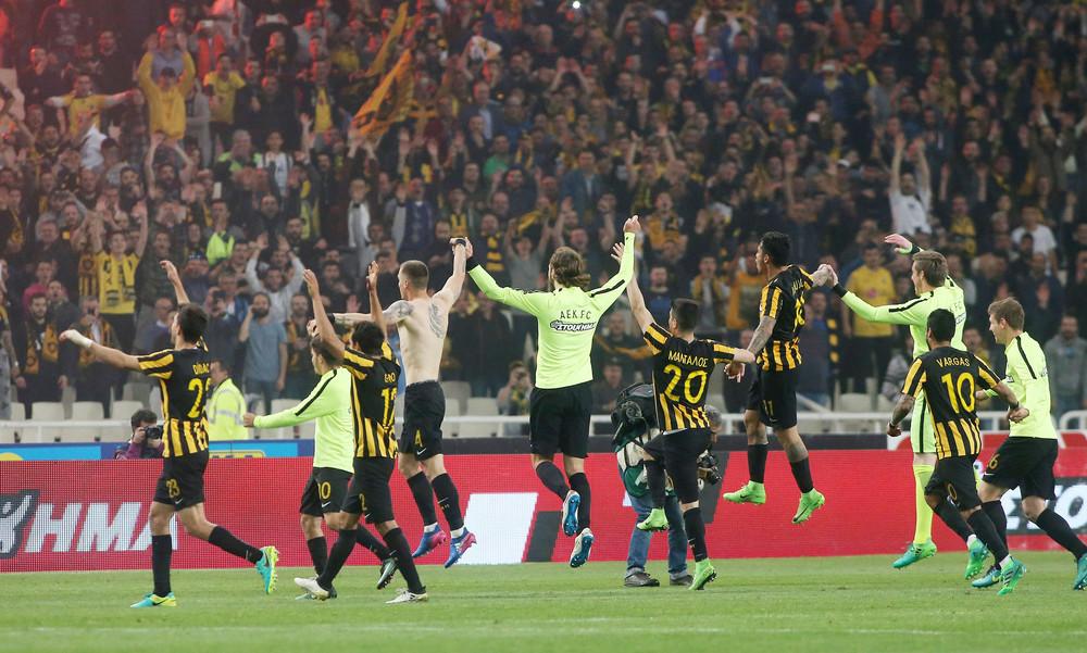 Η ΑΕΚ στον τελικό του Κυπέλλου: Έχασε 1-0 από τον Ολυμπιακό στο ΟΑΚΑ!