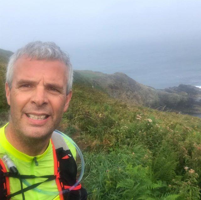 St Ives (UK) Coastal Path, rough terrain, fierce weather #tough