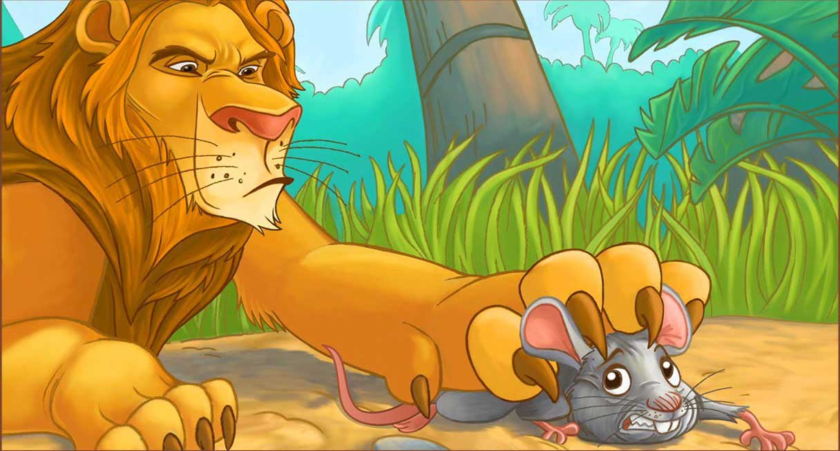 the lion and mouse