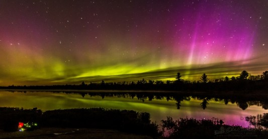 Northern lights Ontario
