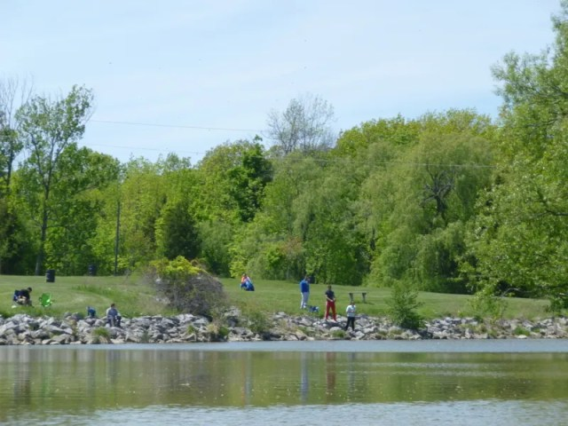 byng island Telenko fishing from the shore