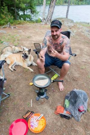 quesadilla - backcountry camping recipies