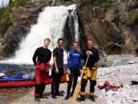 My favorite campsite - Cascade Falls - Lake Superior - Pukaskwa National Park (2)