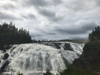 Scenic High Falls on the Magpie River