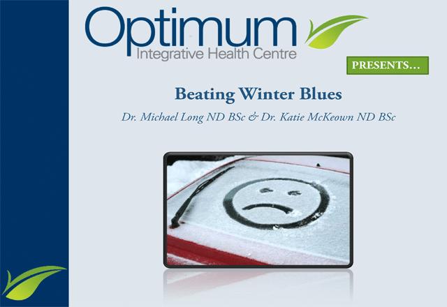 Beating Winter Blues Lecture - Optimum Integrative