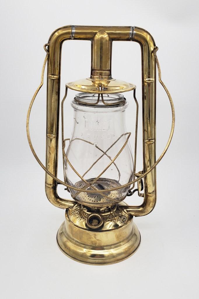 Wright Lanterns Brass Comet