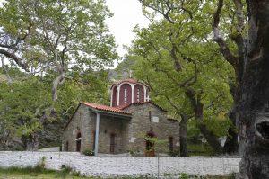 Aghia Triada Kerk Karystos Zuid Evia Griekenland