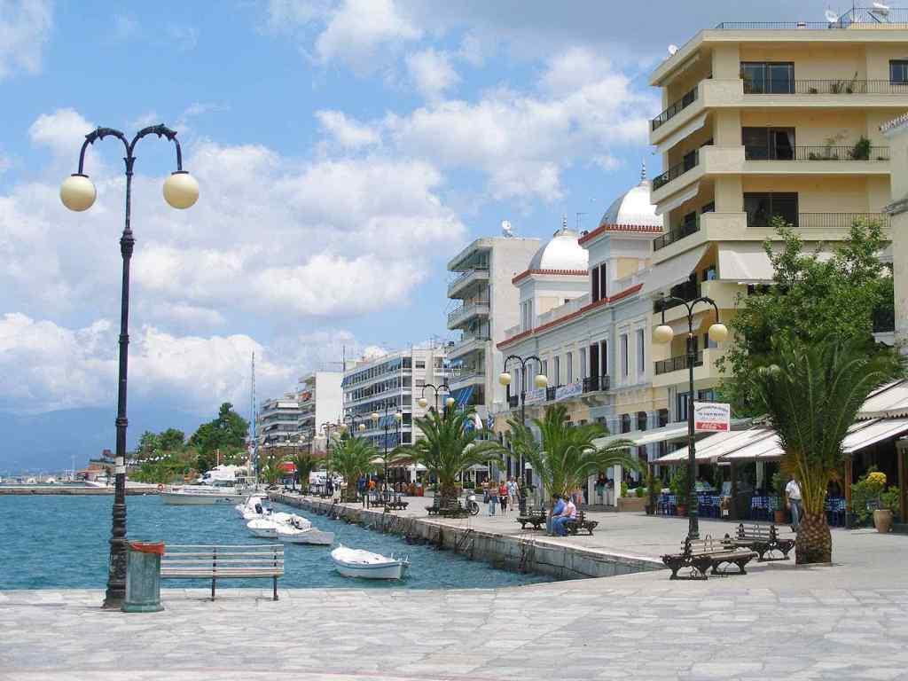 Boulevard Chalkida Centraal Evia Griekenland