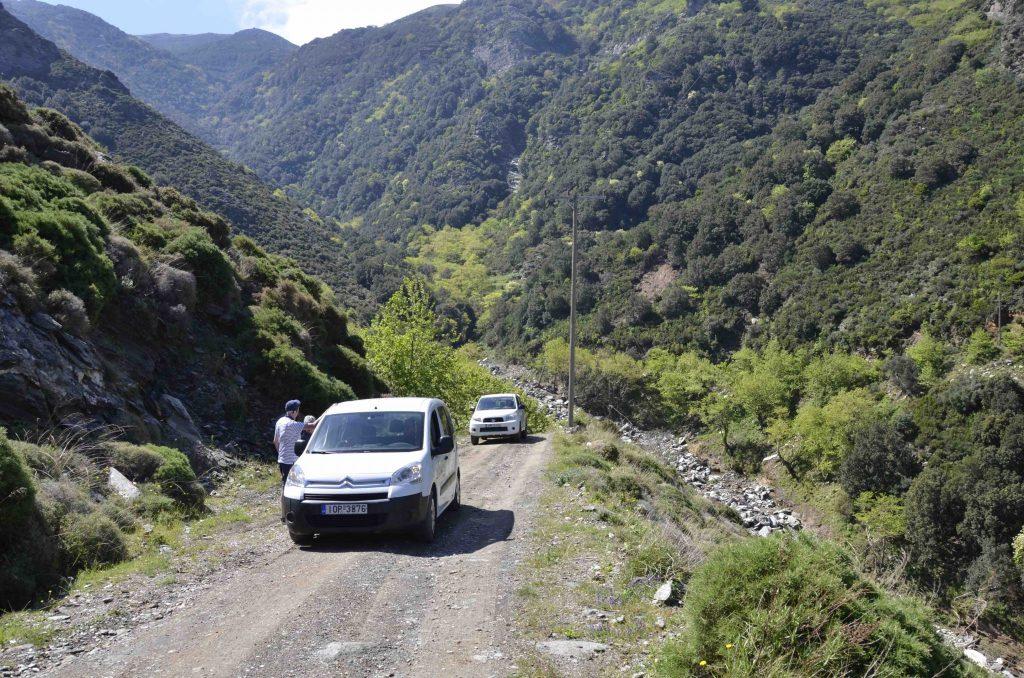Jeep Safari Autotour Cavo D'Oro Zuid Evia Griekenland