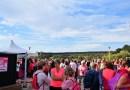 Le plan d'eau du Canada a vu rose pour lutter contre le cancer du sein