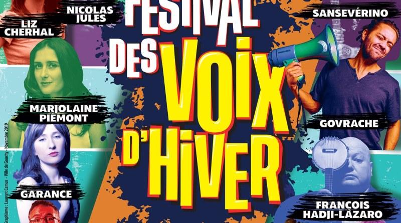 affiche vingtième festival des voix d'hiver