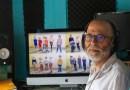 Il transforme les écoles en studio d'enregistrement et écrit des chansons avec les enfants