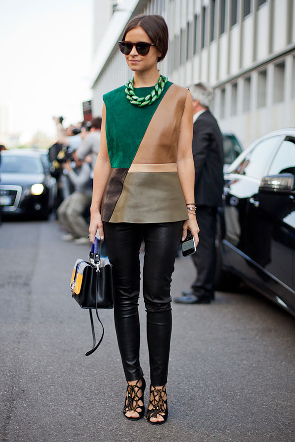 أسبوع الموضة في ميلان لربيع 2013