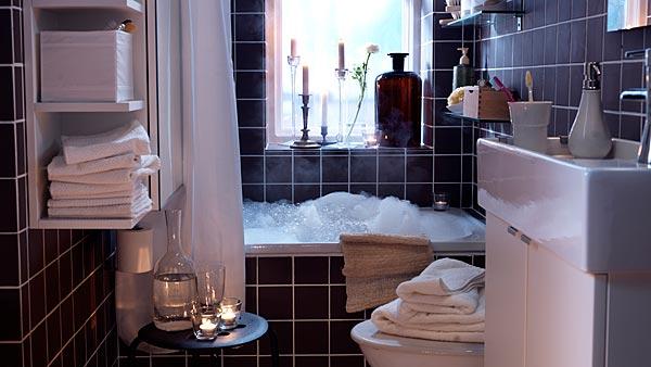 زيني حمام منزلك بلمسة مرح مع ستائر الدوش من إيكيا - IKEA