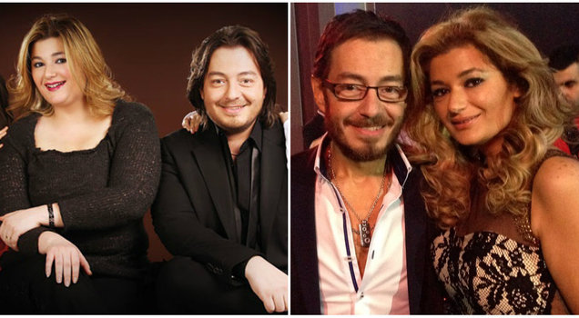 شاهدي صور الفنان احمد زاهر و زوجته قبل و بعد الرجيم