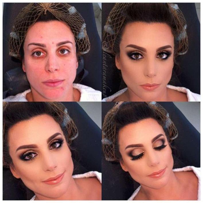 صور مذهلة قبل وبعد المكياج لخبير التجميل البرازيلي Alcantara 6