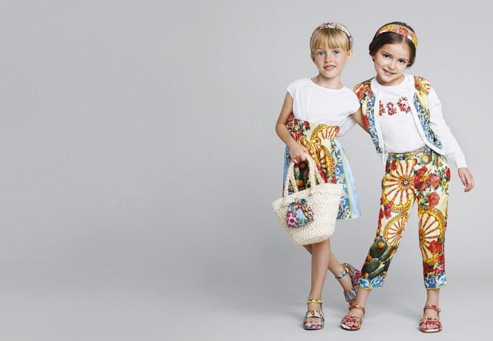 مجموعة ملابس فاكهه الصيف الآسيوية للفتيات من D&G (1)