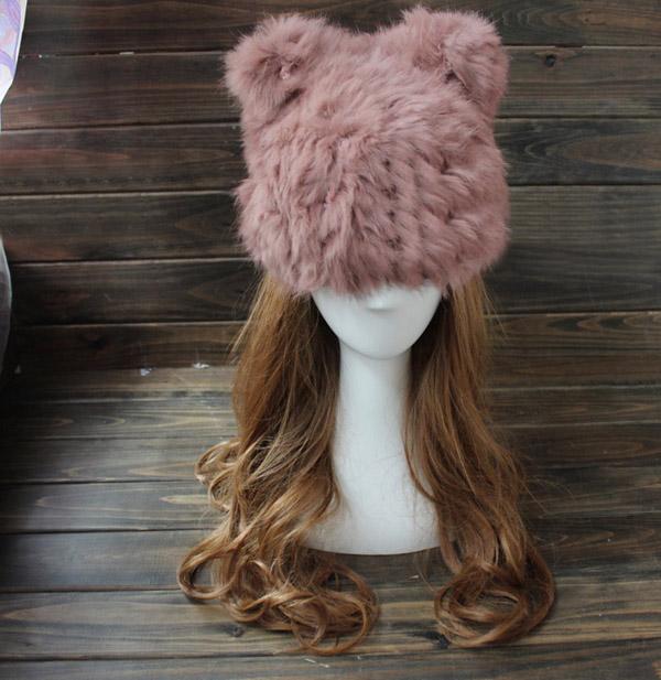طواقي رأس مستوحاه من أشكال القطط للصيف و الشتاء ! (5)
