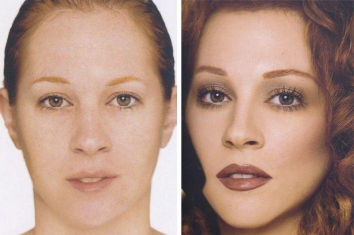 المكياج يصنع المعجزات ! 20 صورة لنساء قبل و بعد المكياج (10)