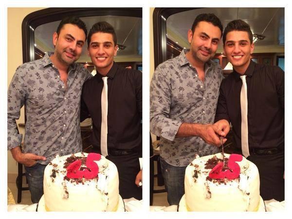 عيد ميلاد محمد عساف 2