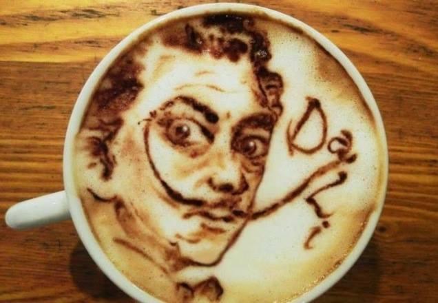 الفن في الفنجان .. لعشاق القهوة بالحليب ! (1)