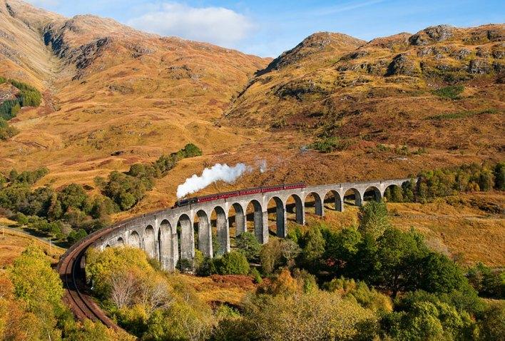 جسر جلينفينان في اسكتلندا1