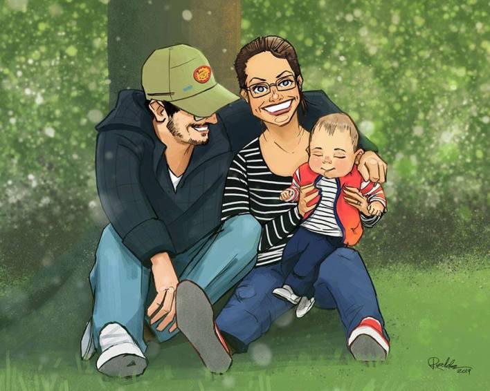رسم العائلة