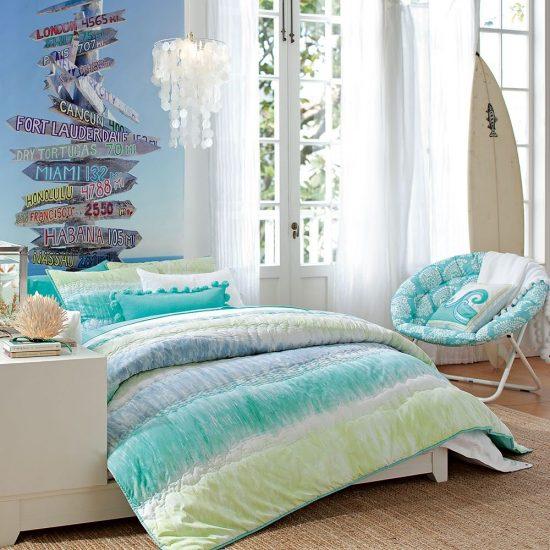 غرفة نوم للبنات هادئة