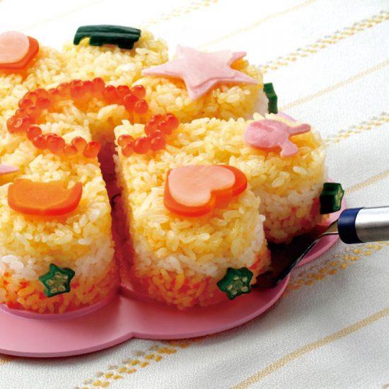 كعكات سوشي سهلة التحضير و لذيذة
