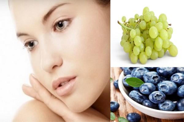 فوائد العنب للبشرة و الشعر