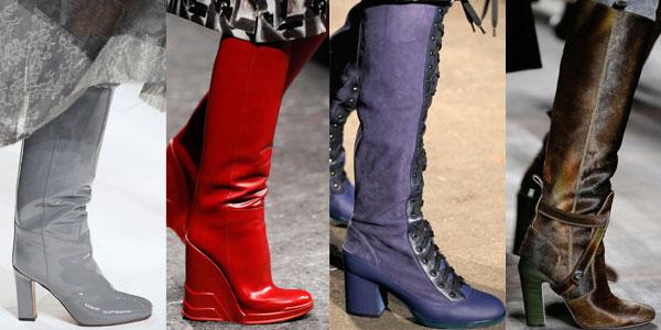 أحذية البوت لإطلالة أنيقة و عصرية لشتاء 2015