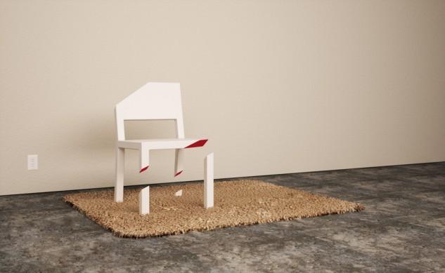 الكرسي المقصوص