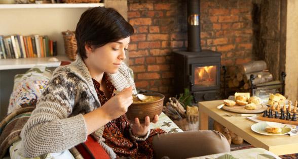 الأطعمة فصل الشتاء
