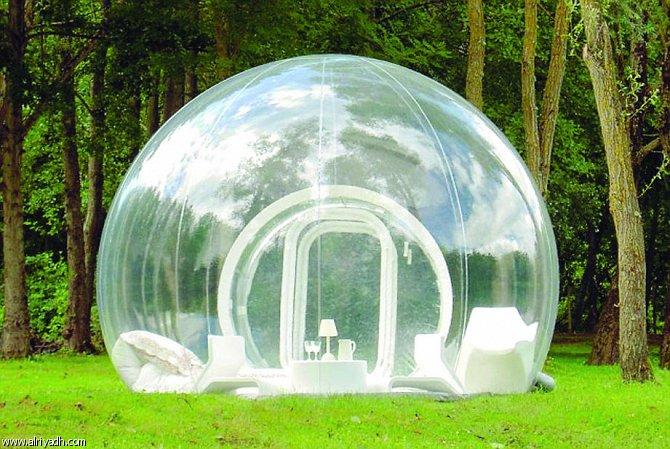 الخيمة الشفافة