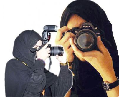 50 فتاة يشكلن أول مجموعة للمصورات الهاويات بالطائف