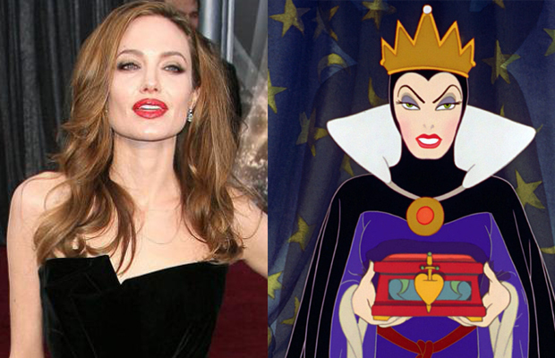 Angelina Jolie - The Queen in Snow White and the Seven Dwarves