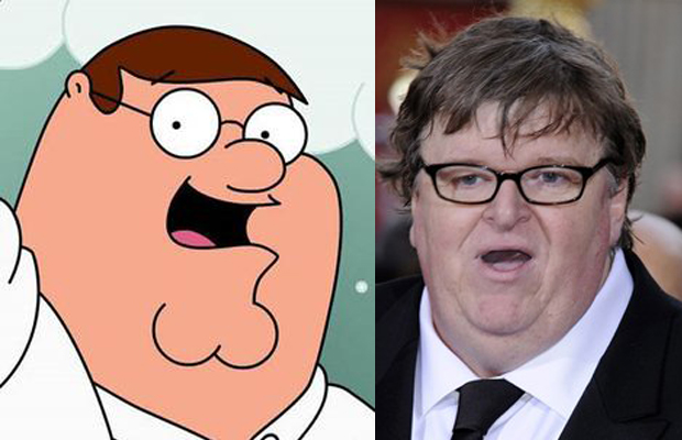 Michael Moore - Peter Griffin in Family Guy