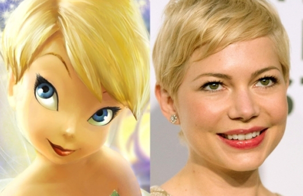 Michelle Williams -Tinker Bell in Peter Pan