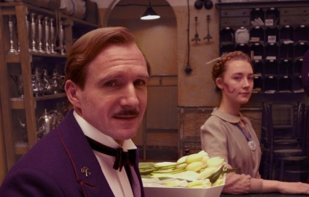 Ralph Fiennes as Monsieur Gustave H in The Grand Budapest Hotel