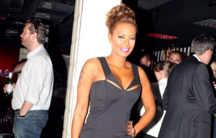 Mel B Spices Up The X Factor!