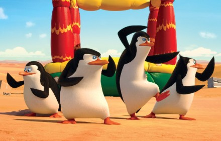 First 5 minutes of 'Penguins of Madagascar'
