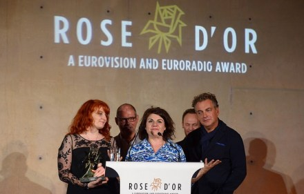 Axed Channel 4 sitcom Raised by Wolves wins Rose d'Or