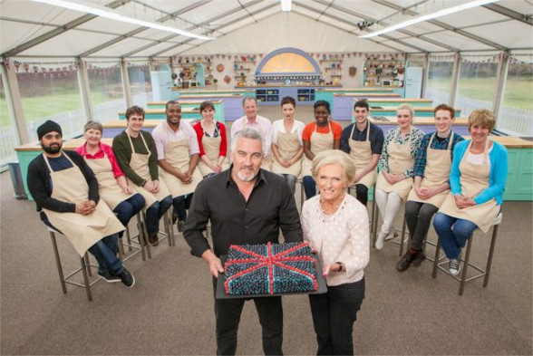 The Bake-Off contestants 2016