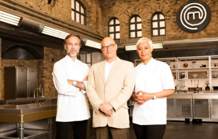 MasterChef: The Professionals - Marcus Wareing, Monica Galetti and Gregg Wallace