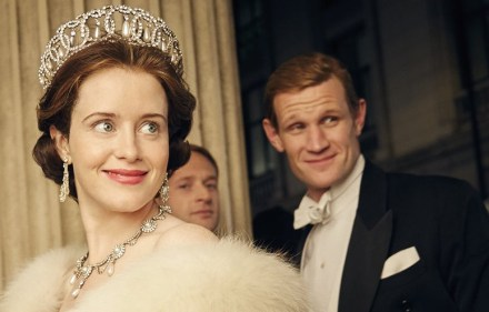The Crown starring Clare Foy and Matt Smith