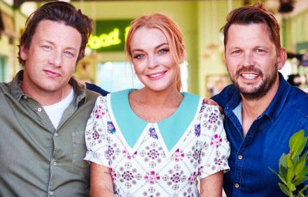 Jamie Oliver, Jimmy Doherty, Lindsay Lohan - Friday Night Feast