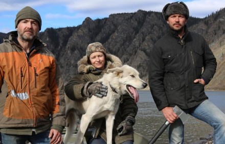 Jimmy Doherty, Neil, Louise - escape to the wild