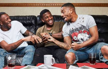 Tremaine, Twaine and Tristan. Gogglebox