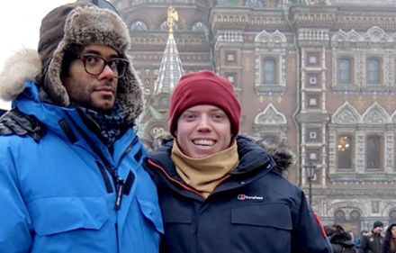 Preview – Travel Man: 48 Hours in St Petersburg
